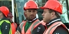 Watch: Irish rugby team visit heart of earthquake red zone