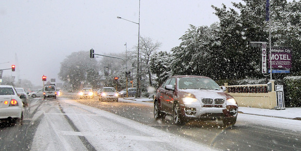 Road users go five kinds of stupid when the black clouds start to threaten, writes Matt Greenop. Photo / Geoff Sloan