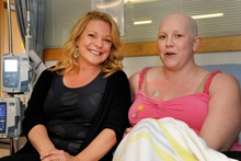 Kerre's visit to a chemo room, where Jess Finnigan inspired her. Photo / Supplied