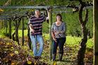Growers Mat and Kris Johnson: 'plenty of tears have been shed'. Photo / Alan Gibson