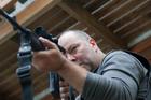 Actor Mark Mitchinson plays Napier gunman Jan Molenaar in Siege, on TV One tomorrow at 8.30pm. Photo / Supplied