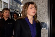 Actress Lucy Lawless ar