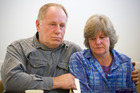 Peter Mair and Lichelle Mills talk about the loss of stepson and son Javed Frazer Mills. Photo / Greg Bowker