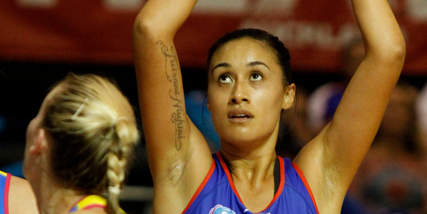 Mystics' Maria Tutaia says the time has come for her side to show they can be relentless. Photo / Natalie Slade.