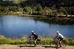 Waikato River Trail from Karapiro to Whakamaru. Photo / Christine Cornege
