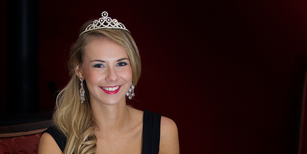 Miss Universe New Zealand Avianca Bohm. Photo / Sarah Ivey