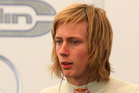 Former Red Bull Racing reserve driver Brendon Hartley.