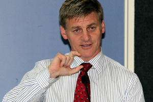 Bill English says the Government will not raise the pension age. Photo / APN