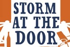 Cover for The Storm At The Door. Photo / Supplied
