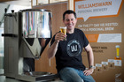 Ian Williams' nano brewery business, WilliamsWarn Personal Brewery, was used by Santiago Aon Ratto to brew his award-winning pilsner. Photo / Natalie Slade