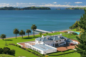 Waiheke Island's most expensive property, Cowes Bay Estate. Photo / Supplied