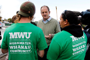 Labour leader David Shearer and the Affco workers have both had wins. Photo / Christine Cornege