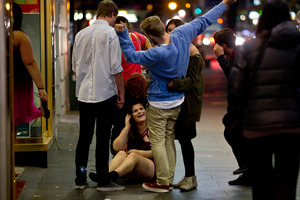 The mayhem has prompted the police and the Auckland Council to create a local alcohol policy. Photo / Dean Purcell