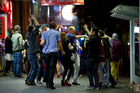 The days of 24/7 drinking in Auckland's central city may be numbered as police and local authorities look at ways to crack down on public debauchery. Photo / Dean Purcell
