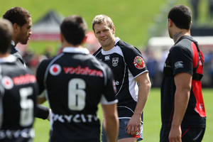 New Zealand Warrior Michael Luck has not played for the team all season. File photo / Greg Bowker