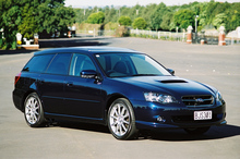 The Subaru Legacy GT. Photo / Supplied