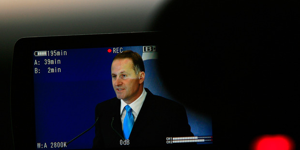 John Key says that he has no plans to raise the retirement age despite a  new poll showing two thirds of voters think it should be. Photo / Martin Sykes