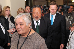 Tariana Turia and Pita Sharples have reportedly been under pressure from supporters to  stand again at the next election.   Photo / NZPA