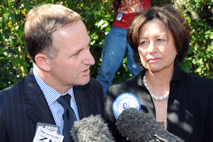John Key accepted some of the blame for the class size debacle while Hekia Parata is ready to face educators. Photo / NZPA