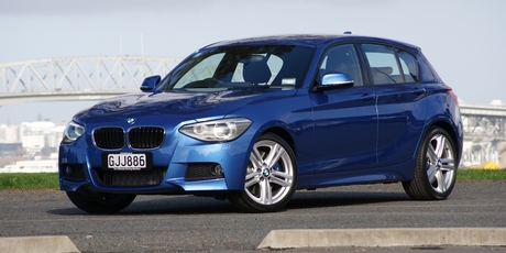 BMW 125i M Sport. Photo / David Linklater