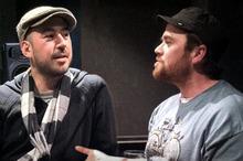 Mark de Clive-Lowe (left) and Andy 'Submariner' Morton. Photo / Sam Wicks