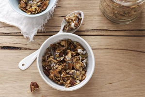 Coco-nutty granola. Photo / Marija Ivkovic