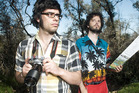 Flight of the Conchords have kicked off their New Zealand tour in the Hawke's Bay to positive reviews. Photo / Supplied