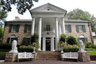 Graceland, Elvis Presley's home in Memphis, Tennessee, opened for tours on June 7, 1982. More than thirty years on, its success has helped transform the city into a major music destination.  Photo / AP