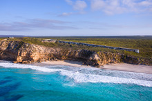 An aerial view of Southern Ocean Lodge on Kangaroo Island, South Australia. Photo / Supplied