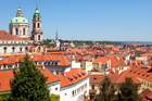 Mala Strana (the Lesser Quarter) is where Beethoven chose to stay when he visited Prague in 1796, turning his back on the fashionable Old Town, with its opera houses and concert halls. Photo / Thinkstock