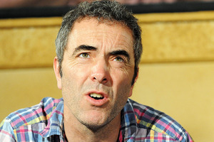 James Nesbitt at a press conference featuring the cast of the Hobbit in 2011.  Photo / File