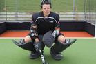 Black Sticks goalkeeper Kyle Pontifex. Photo / Paul Estcourt