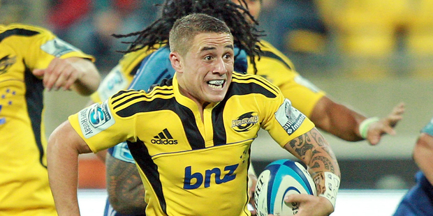 TJ Perenara is one of the hardest working players in the Hurricanes set-up. Photo / Getty Images
