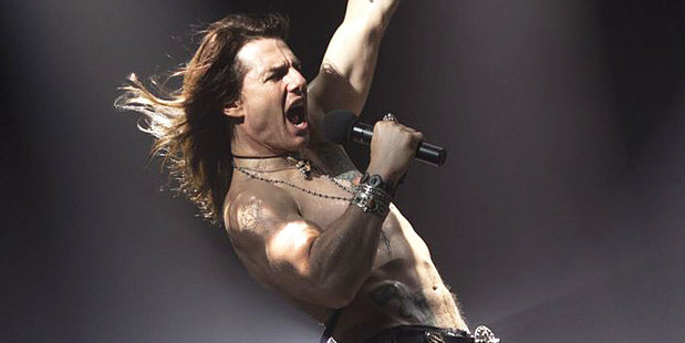 Tom Cruise as Stacey Jaxx in Rock of Ages. Photo / Supplied