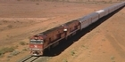 Watch: Supercar V8 stars ride the iconic Ghan railway to Darwin