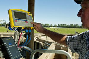 Tru-Test is a leading manufacturer of animal weighing and recording equipment. Photo / Supplied