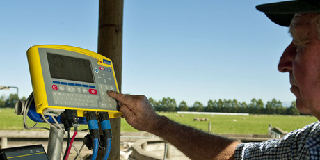 Tru-Test, a leading manufacturer of animal weighing and recording equipment, has brought it production process back to home soil. Photo / Supplied