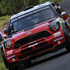 Daniel Sordo and Carlos DelBarrio's Prodrive WRC Mini Cooper JCW at Rally NZ shakedown. Photo / Getty Images