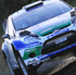 Jari Matti Latvala experiences loss of grip during shakedown. Photo / Getty Images