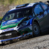 Petter Solberg and Chris Patterson in their Ford WRT Ford Fiesta RS WRC. Photo / Getty Images