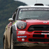 Daniel Sordo's WRC Mini gets seriously airborne at Hella Bridge. Photo / Getty Images