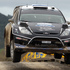 Ott Tanak and Kuldar Sikk of Estonia in their M-Sport Ford WRT Ford Fiesta RS WRC during Day Two. Photo / Getty Images