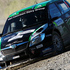Hayden Paddon and John Kennard pushing hard to make up time from yesterday's broken gearbox in their Skoda Fabia S2000. Photo / Getty Images