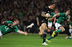 Sonny Bill Williams makes a break. Photo / Getty Images