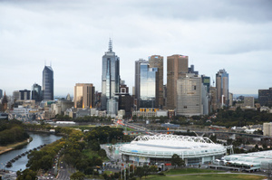 Millions felt the extremely rare quake in the city of Melbourne. Photo / file
