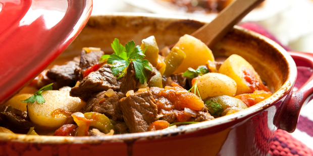 Using a heavy set pot over an induction hob will produce the same results as a slow cooker: a hearty hot meal. Photo / Thinkstock