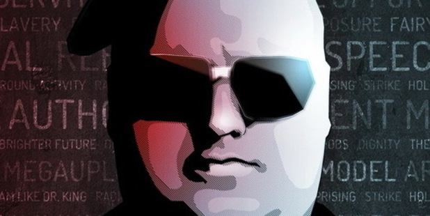 Kim Dotcom's Twitter avatar on his new official account. Photo / Twitter