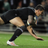 Sonny Bill Williams of the All Blacks dives over to score during the International Test Match between New Zealand and Ireland. Photo / Getty Images.