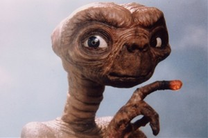 ET appears in the first - and only - ET film. Photo / Supplied