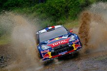 Sebastian Loeb and co-driver Daniel Elena are aiming to hold on to the World Rally Championship lead. Picture / Supplied